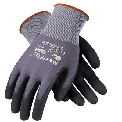 MaxiFlex Ultimate Nylon Nitrile Gloves 34-874/L
