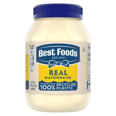 Best Foods Mayonnaise Real - 30oz - image 1 of 4