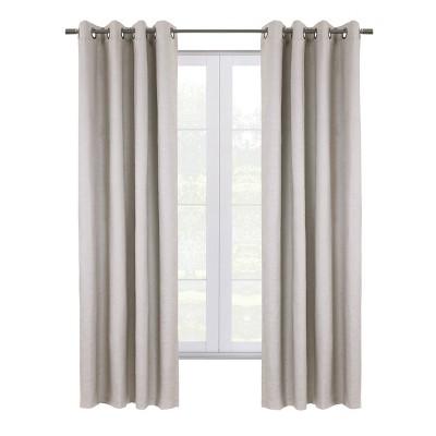 Stockton Grommet Top Blackout Curtain Panel - Thermaplus