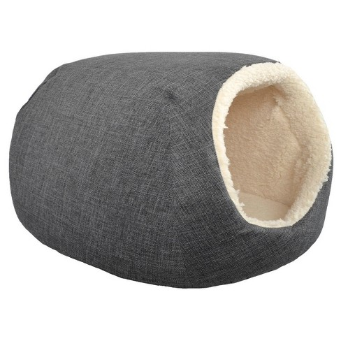Pet Cave/Bed - Gray - Small - Boots & Barkley™ - image 1 of 2