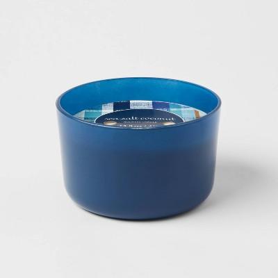 Glass Jar Sea Salt Coconut Candle - Opalhouse™