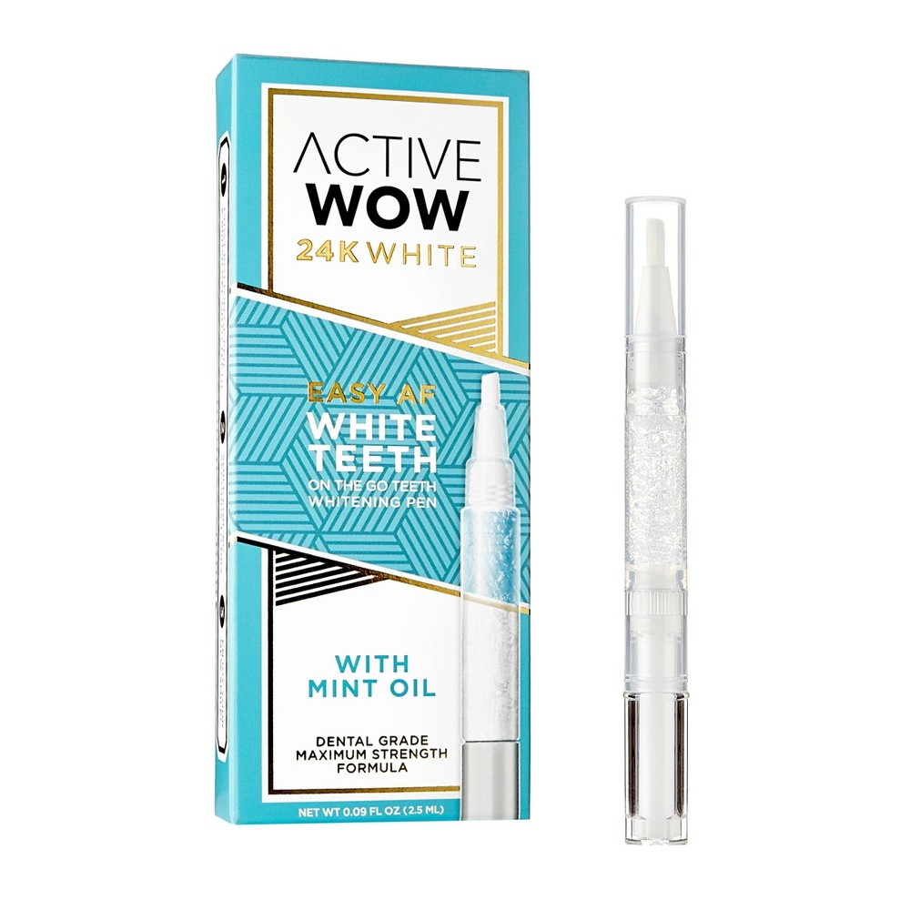 Image of Active Wow White Teeth Whitening Pen with Mint - 0.09 fl oz