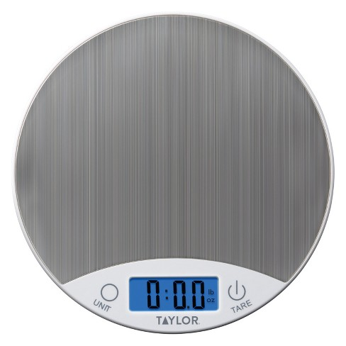 Taylor Digital 11lb Food Scale - White/Stainless - image 1 of 3