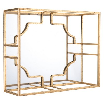 ZM Home 20  3-Dimensional Wall Sculpture Gold