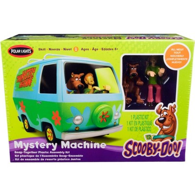 Skill 1 Snap Model Kit The Mystery Machine with Two Figurines (Scooby-Doo and Shaggy) 1/25 Scale Model by Polar Lights