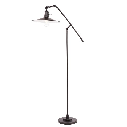 Angus Floor Lamp Black (Includes Energy Efficient Light Bulb) - Aiden Lane - image 1 of 2