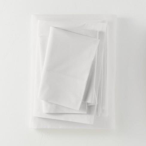 Washed Supima Percale Solid Sheet Set - Casaluna™ - image 1 of 4