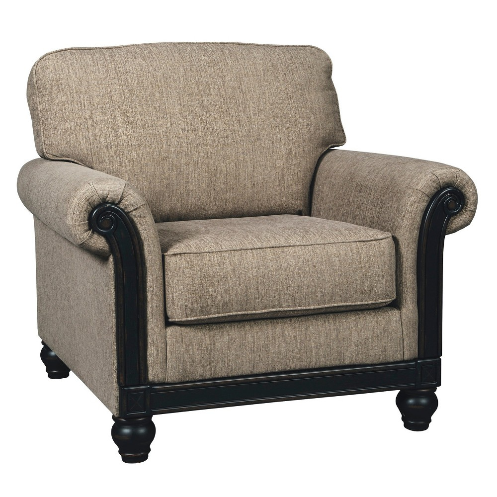 Accent Chairs Taupe Brown - Signature Design by Ashley
