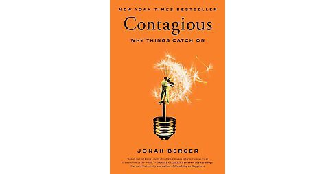 Contagious (Hardcover) by Jonah Berger - image 1 of 1