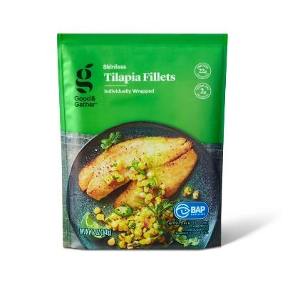 Tilapia Skinless Fillets - Frozen - 12oz - Good & Gather™