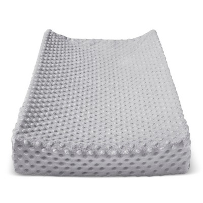 Plush Changing Pad Cover Birch - Cloud Island™ - Gray