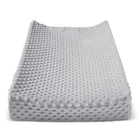 Plush Changing Pad Cover Birch - Cloud Island™ - Gray - image 1 of 1