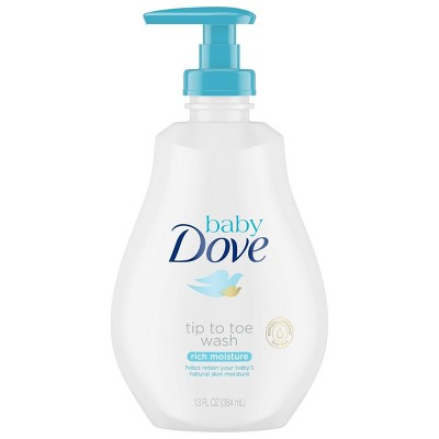 Baby Dove Rich Moisture Tip-to-Toe Wash - 13oz
