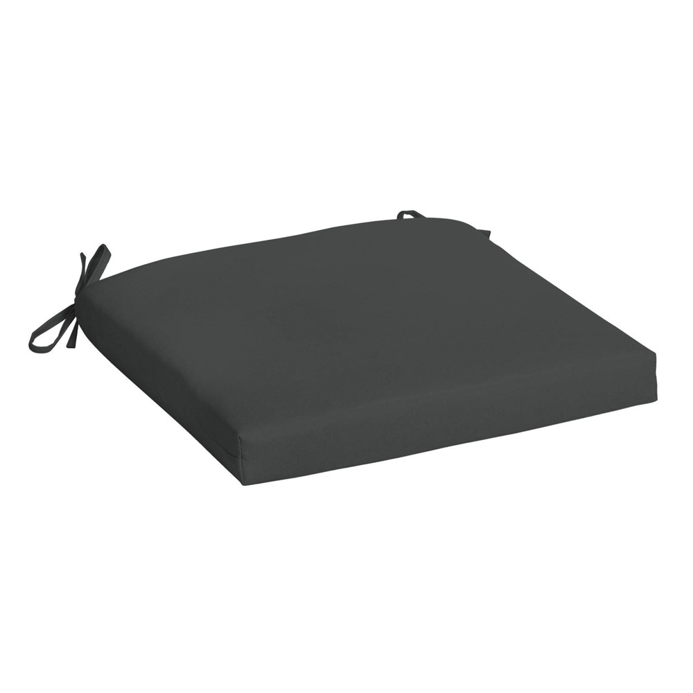 Arden Selections Acrylic Outdoor Seat Pad Slate Gray