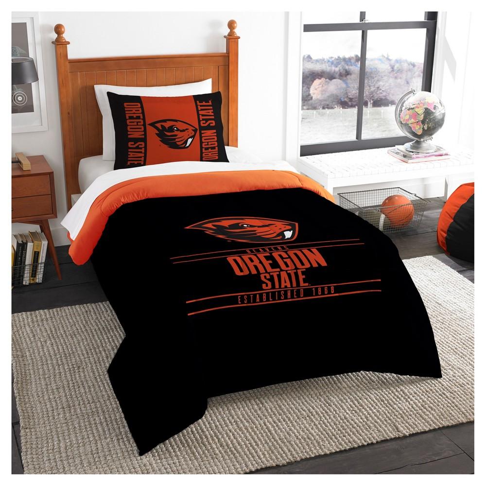 NCAA Northwest Modern Take Twin Comforter Set Oregon State Beavers - 64 x 86