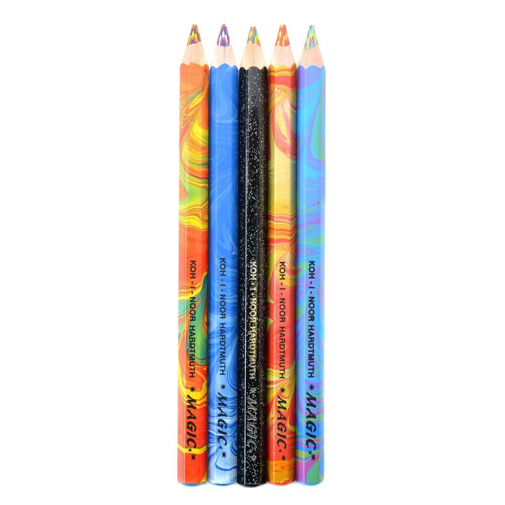 Magic FX Pencil 5ct - Koh-I-Noor, Multi-Colored
