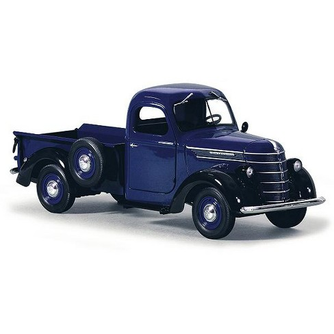 1938 International D 2 Pickup Truck Ih Blue Black 1 25 Cast Model By First Gear Target