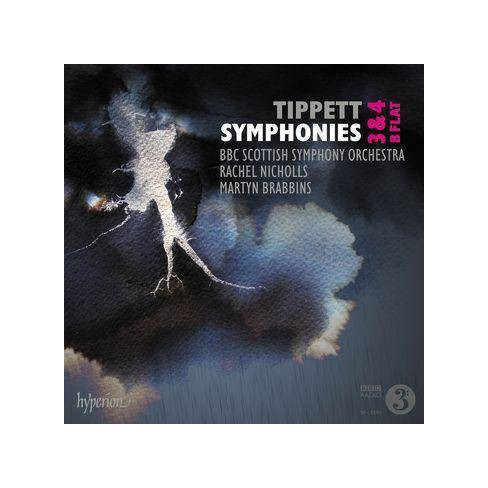 BBC Symphony Orchestra - Tippett: Symphonies Nos. 3, 4 & B Flat (CD) - image 1 of 1