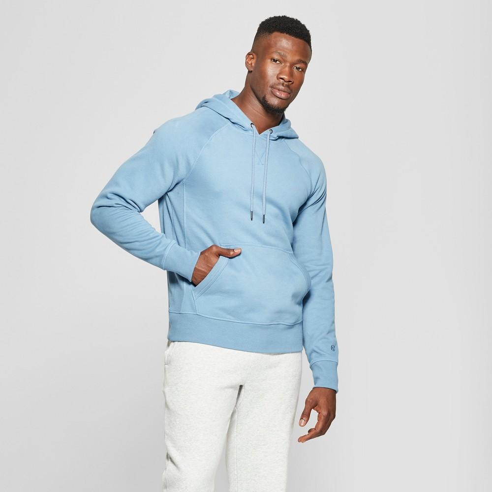 Men's Authentic Fleece Sweatshirt Pullover - C9 Champion Blue Mylar S