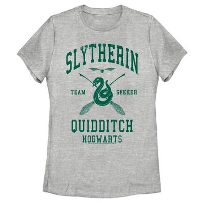 Women's Harry Potter Slytherin Quidditch Team Seeker T-Shirt