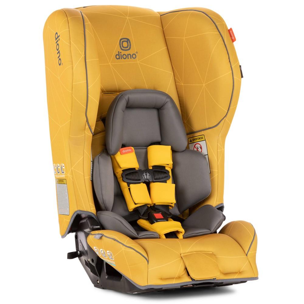 Image of Diono Rainer 2AX Convertible Car Seat - Yellow