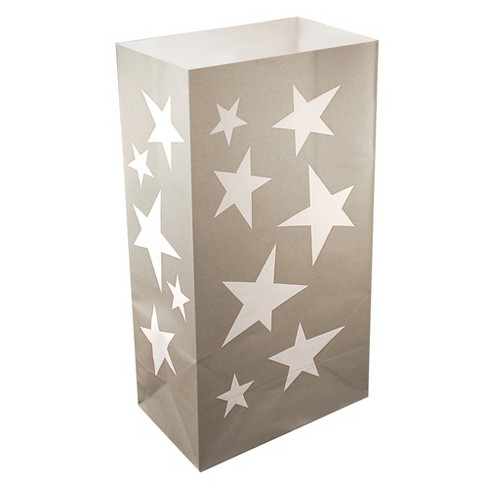 24ct Luminaria Bags Silver - image 1 of 2