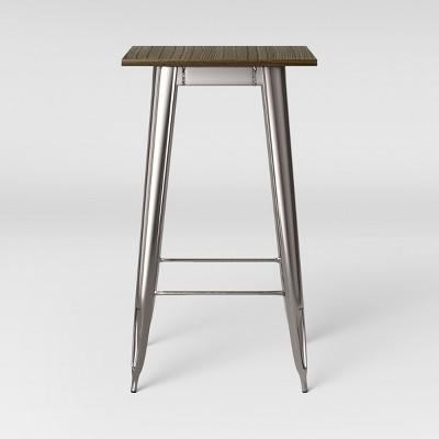 Carlisle Pub Table Wood Silver - Threshold™