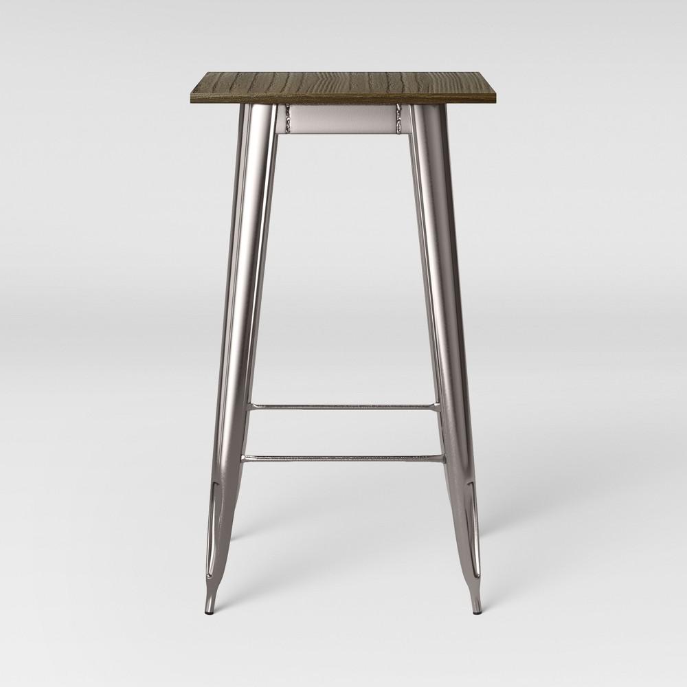 Carlisle Pub Table Wood Silver - Threshold