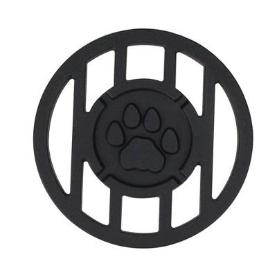 Northlight Pawprint Sports Mascot Inspired Round Branding Grill Iron Accessory