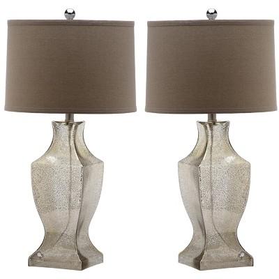 Glass Bottom Lamp (Set of 2)  - Safavieh