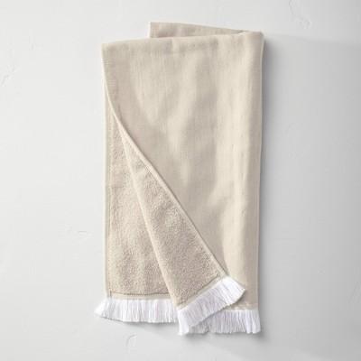 Flat Weave Hand Towel Sand - Casaluna™