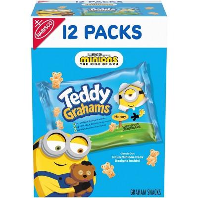 Teddy Grahams Honey Graham Snacks - Variety Pack - 12oz/12ct