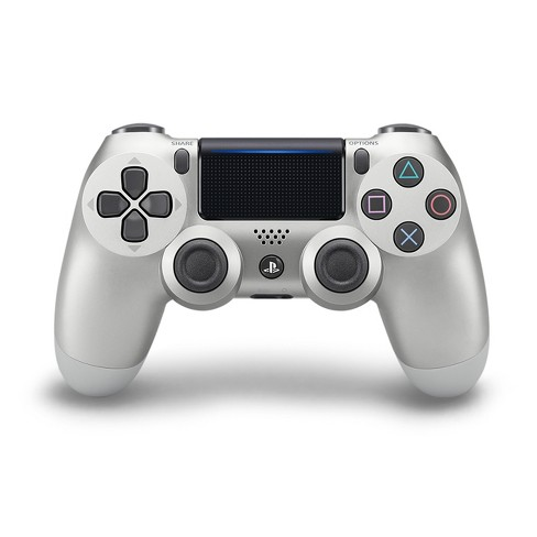DualShock 4 Wireless Controller for PlayStation 4 - Silver - image 1 of 4