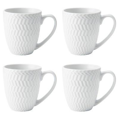Pfaltzgraff Expressions® Fiona Stoneware 4pc Mugs