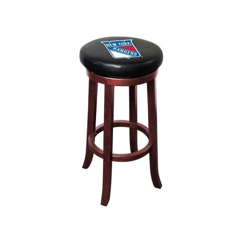 NHL New York Rangers Wooden Bar Stool - image 1 of 1