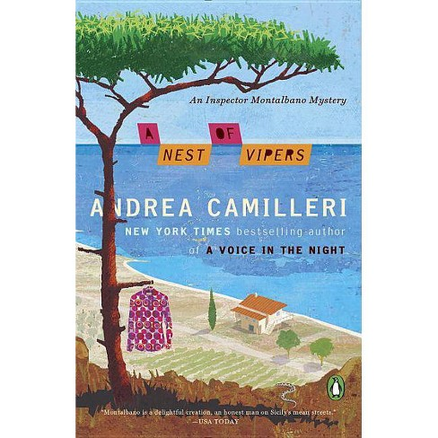 A Nest of Vipers - (Inspector Montalbano Mystery) by  Andrea Camilleri (Paperback) - image 1 of 1