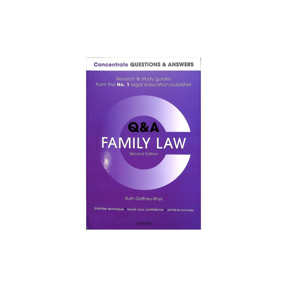 Concentrate Q&a Family Law - by Ruth Gaffney-Rhys (Paperback)