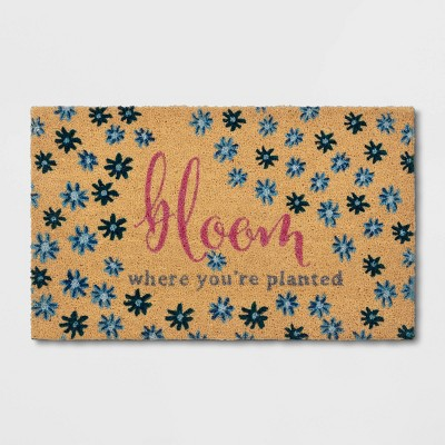 Door Mat Bloom Where You're Planted - Opalhouse™