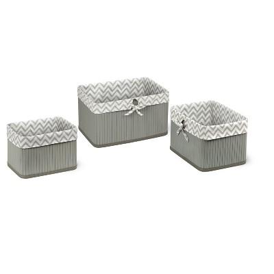 Decorative Gray Basket - Badger Basket