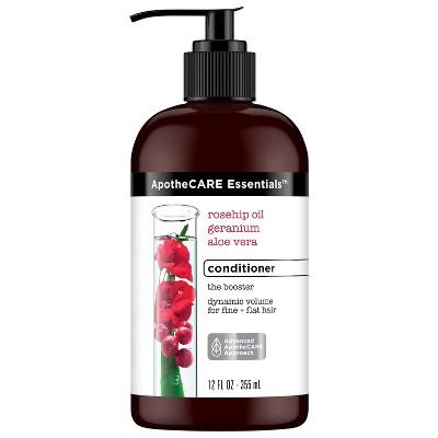 Apothe Care Essentials With Rosehip Oil Geranium &Amp; Aloe Vera Conditioner   12 Fl Oz by 12 Fl Oz