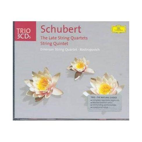 Duras - Schubert: The Late Quartets/String Quintet (CD) - image 1 of 1