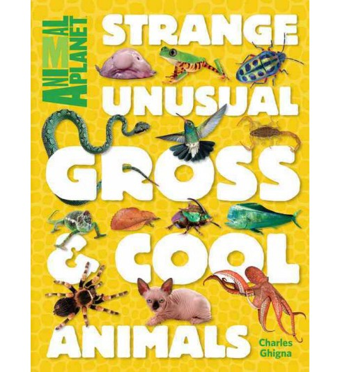 Animal Planet Strange, Unusual, Gross & Cool Animals (Hardcover) (Charles Ghigna) - image 1 of 1