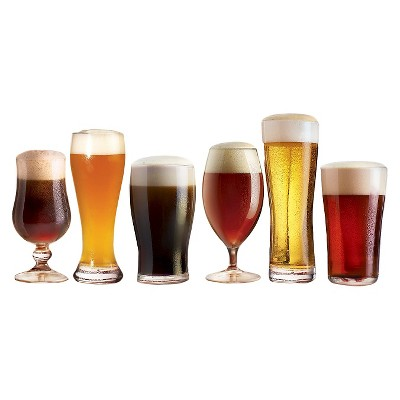 Luminarc Assorted Craft Brew Glass Set - 6pc