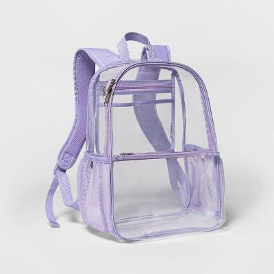 """16"""" Clear Backpack - Embark™"""