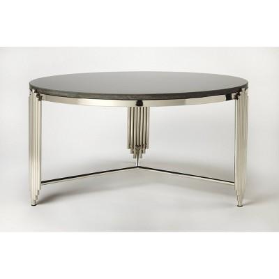 Khalifa Granite Coffee Table Black   Butler Specialty : Target