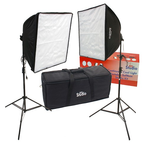 DLC Dual Square Folding Softbox Kit - Black (RS-4070) - image 1 of 1