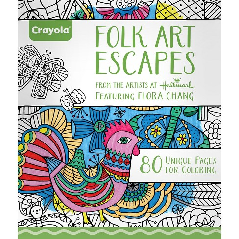 CrayolaR Aged Up Coloring Book