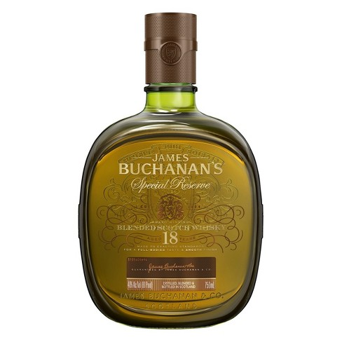 Buchanan's 18 year Blended Scotch Whisky - 750ml Bottle - image 1 of 2
