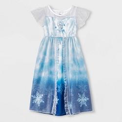 Toddler Girls' Frozen Fantasy Nightgown - Blue
