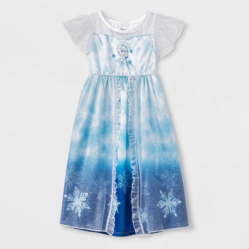 Toddler Girls' Frozen Fantasy Nightgown - Blue - image 1 of 1